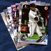 2019 Bowman & Prospects Miami Marlins Baseball Cards Team Set