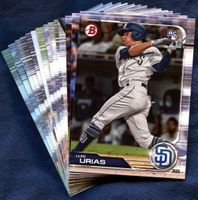 2019 Bowman & Prospects San Diego Padres Baseball Cards Team Set