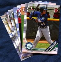 2019 Bowman & Prospects Seattle Mariners Baseball Cards Team Set