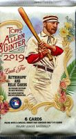 2019 Topps Allen and Ginter Baseball Cards Retail Pack