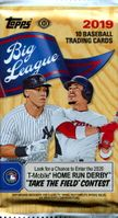 2019 Topps Big League Baseball Cards Hobby Pack