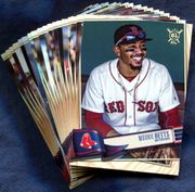 2019 Topps Big League Boston Red Sox Baseball Cards Team Set