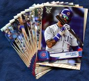 2019 Topps Big League Chicago Cubs Baseball Cards Team Set