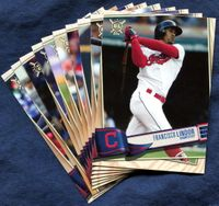 2019 Topps Big League Cleveland Indians Baseball Cards Team Set