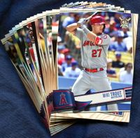 2019 Topps Big League Los Angeles Angels Baseball Cards Team Set