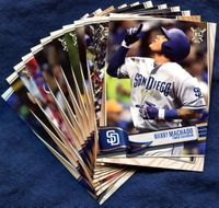 2019 Topps Big League San Diego Padres Baseball Cards Team Set