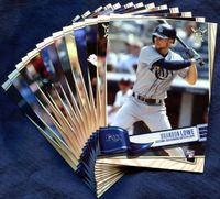 2019 Topps Big League Tampa Bay Rays Baseball Cards Team Set