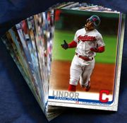 2019 Topps Cleveland Indians Baseball Card Singles