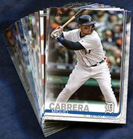 2019 Topps Detroit Tigers Baseball Cards Team Set