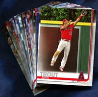 2019 Topps Los Angeles Angels Baseball Cards Team Set