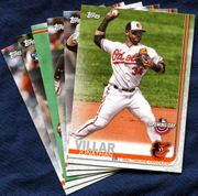 2019 Topps Opening Day Baltimore Orioles Baseball Cards Team Set