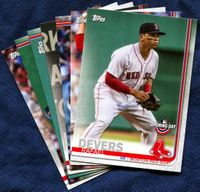 2019 Topps Opening Day Boston Red Sox Baseball Cards Team Set