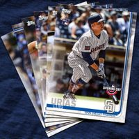 2019 Topps Opening Day San Diego Padres Baseball Cards Team Set