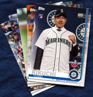 2019 Topps Opening Day Seattle Mariners Baseball Cards Team Set