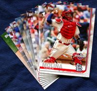 2019 Topps Opening Day St. Louis Cardinals Baseball Cards Team Set