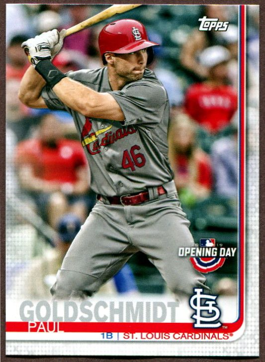 2019 Topps Opening Day St Louis Cardinals Baseball Cards
