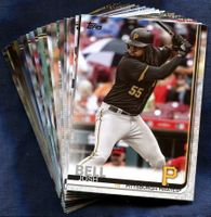 2019 Topps Pittsburgh Pirates Baseball Cards Team Set