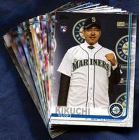 2019 Topps Seattle Mariners Baseball Cards Team Set