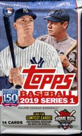 2019 Topps Series 1 Baseball Cards Retail Pack