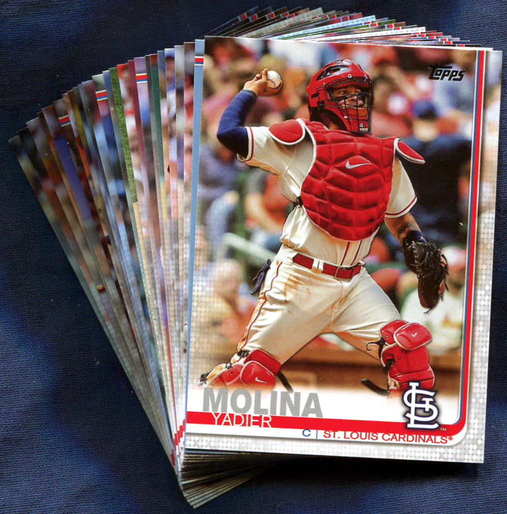 2019 Topps St Louis Cardinals Baseball Cards Team Set