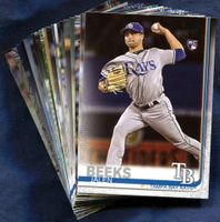 2019 Topps Tampa Bay Rays Baseball Cards Team Set