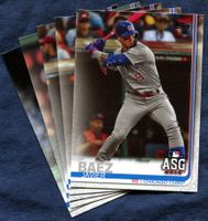 2019 Topps Update Chicago Cubs Baseball Cards Team Set