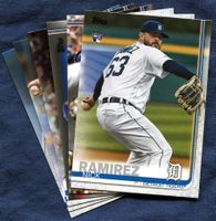2019 Topps Update Detroit Tigers Baseball Cards Team Set