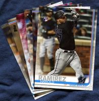 2019 Topps Update Miami Marlins Baseball Cards Team Set