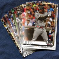 2019 Topps Update Pittsburgh Pirates Baseball Cards Team Set