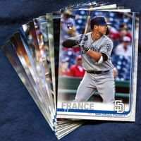 2019 Topps Update San Diego Padres Baseball Cards Team Set