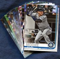 2019 Topps Update Seattle Mariners Baseball Cards Team Set