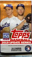 2019 Topps Update Series Baseball Cards Retail Pack