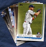2019 Topps Update Tampa Bay Rays Baseball Cards Team Set