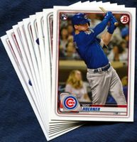 2020 Bowman & Prospects Chicago Cubs Baseball Cards Team Set
