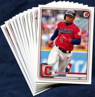 2020 Bowman & Prospects Cleveland Indians Baseball Cards Team Set