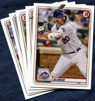 2020 Bowman & Prospects New York Mets Baseball Cards Team Set