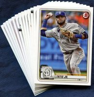 2020 Bowman & Prospects San Diego Padres Baseball Cards Team Set