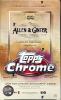 2020 Topps Allen and Ginter Chrome Cards Hobby Box