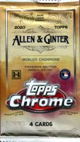 2020 Topps Allen and Ginter Chrome Hobby Pack