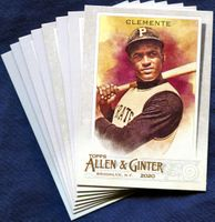 2020 Topps Allen and Ginter Pittsburgh Pirates Baseball Cards Team Set