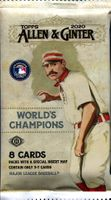 2020 Topps Allen & Ginter Baseball Cards Hobby Pack
