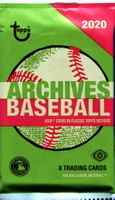 2020 Topps Archives Baseball Cards Hobby Pack