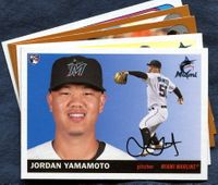 2020 Topps Archives Miami Marlins Baseball Cards Team Set