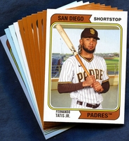 2020 Topps Archives San Diego Padres Baseball Cards Team Set