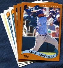 2020 Topps Archives Tampa Bay Rays Baseball Cards Team Set