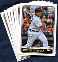 2020 Topps Big League Detroit Tigers Baseball Card Team Set