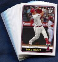 2020 Topps Big League Los Angeles Angels Baseball Card Team Set