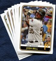 2020 Topps Big League Pittsburgh Pirates Baseball Card Team Set