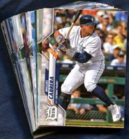 2020 Topps Detroit Tigers Baseball Cards Team Set