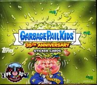 2020 Topps Garbage Pail Kids 35th Anniversary Box